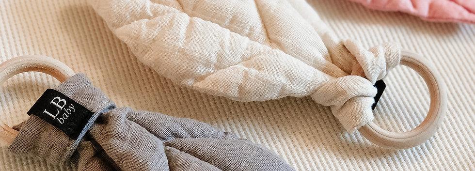 Organic Cotton Leaf Teether
