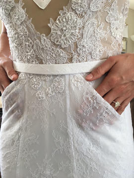 Bridal Pockets | Wedding Gown with Pockets