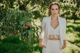 Bridal Pantsuit | Bridal Separates | Bridal Two Piece