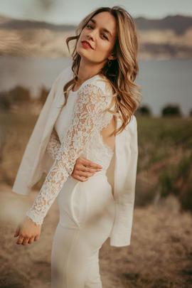 Bridal Separates Canada | Bridal Pantsuit Canada