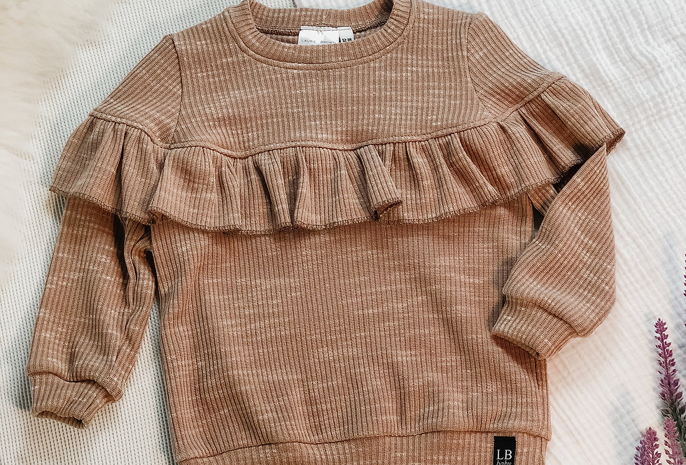 Limited Quantity - Special Edition - Ruffle Sweatshirt