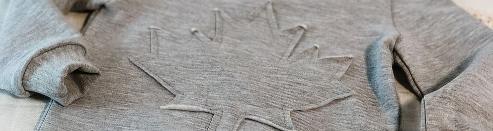 Canadian Designer Laurie Brown made in Canada Baby clothes