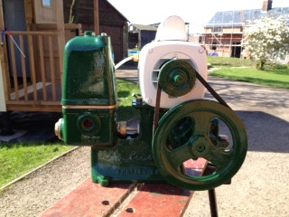 Lister Water Pump Restoration