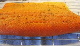 Smoked Salmon at Pool Cottage