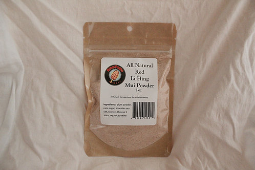 All Natural Red Li Hing Mui Powder