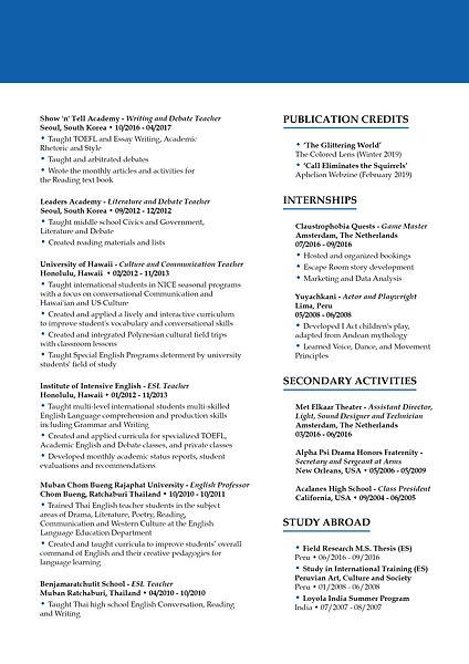 Andrew De La Pena - With Summary - CV 2