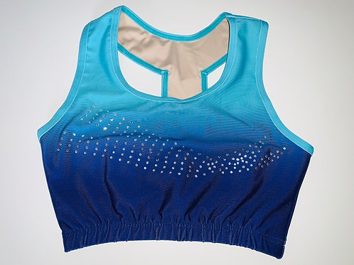 GWA - The Lily Blue Crop Top (Toddlers)
