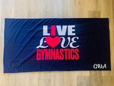 Sweat Towel Live Love Gymnastics.jpg