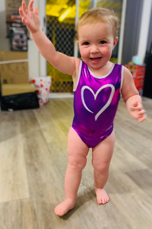 GWA - The Lulu Leotard - Purple (Toddlers)