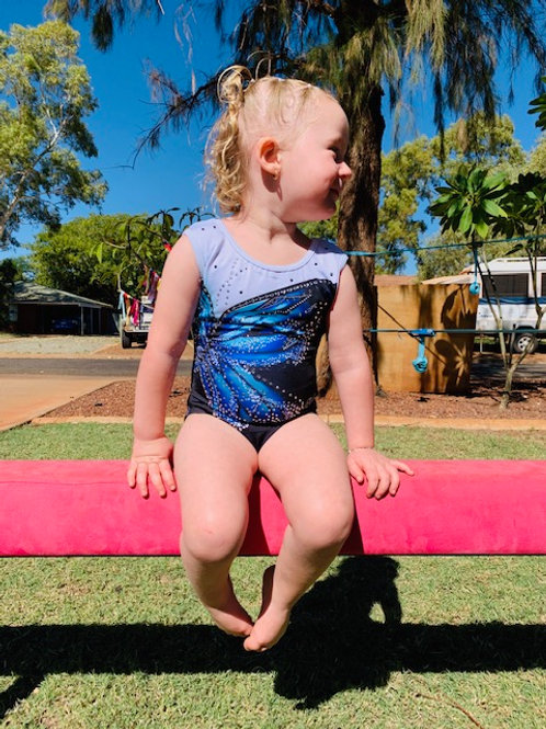 GWA - The Butterfly Blue Leotard (Toddlers)