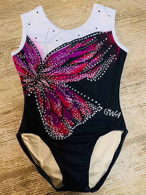 GWA - The Butterfly Pink Leotard