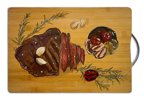 Blessy Man - Beef Steak on the Chopping Board #2 (2021)