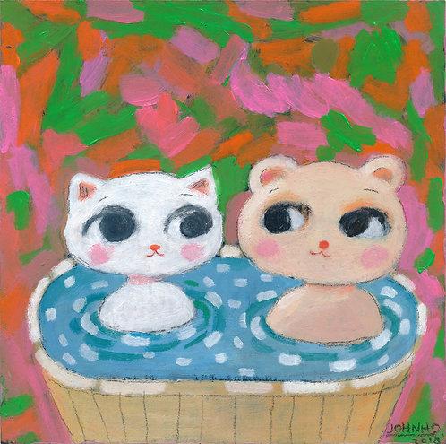 John Ho, 溫泉 Hot spring