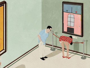 設計與文化:Andrea Ucini反映社會問題插圖系列