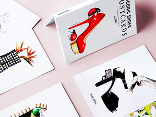 Iconic Shoes Postcards 鞋子明信片