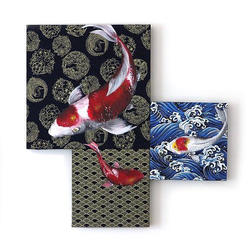 Koi Mosaic #9-3 by Leonlollipop