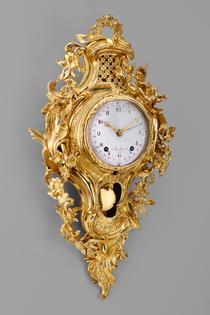 Kunstvolle Louis-XV-Carteluhr