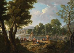 """Signiert und datiert """"P. Prancar f. 1803"""""""