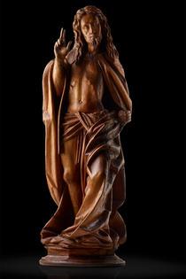 Spätgotischer Auferstehungschristus