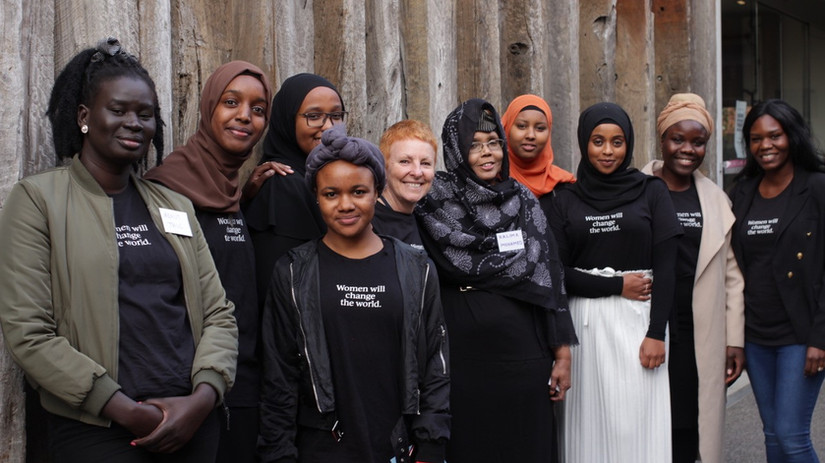 African Australian Women's World Cafe Ma