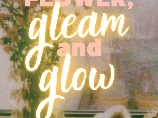 flower, gleam and glow - angel maria