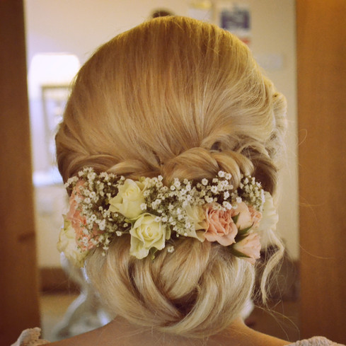 Essex wedding hair stylist Lynnette Chasmer
