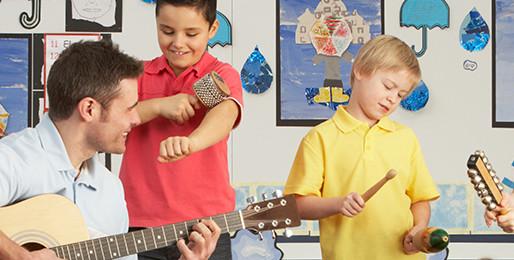 Μουσικοθεραπεία για παιδιά με αυτισμό