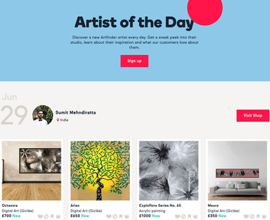 Artist of the day Feature