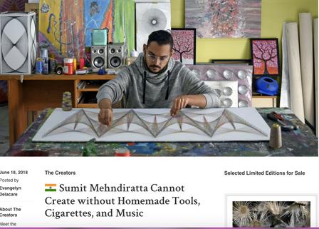 Artist Feature at Saatchi Art