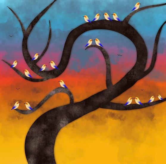 Serene treescape Archival print