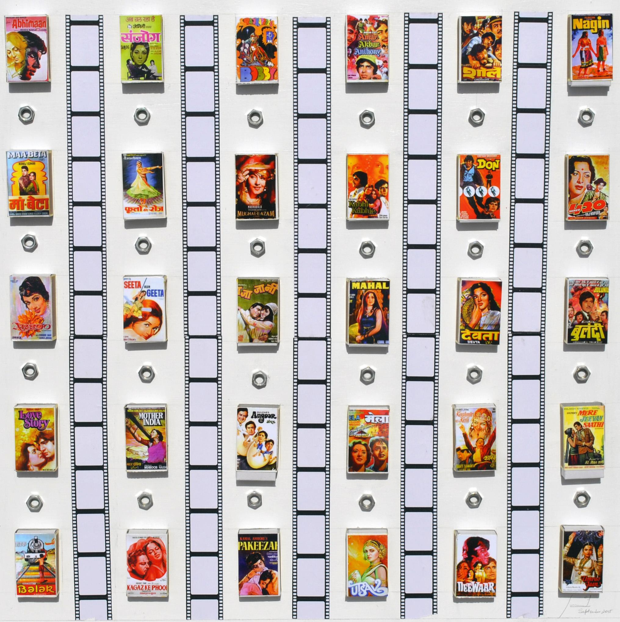 Bollywood on a matchbox 1
