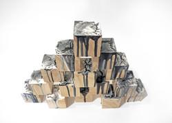 Un-block wooden culpture