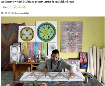 Interview with Artzine Magazine