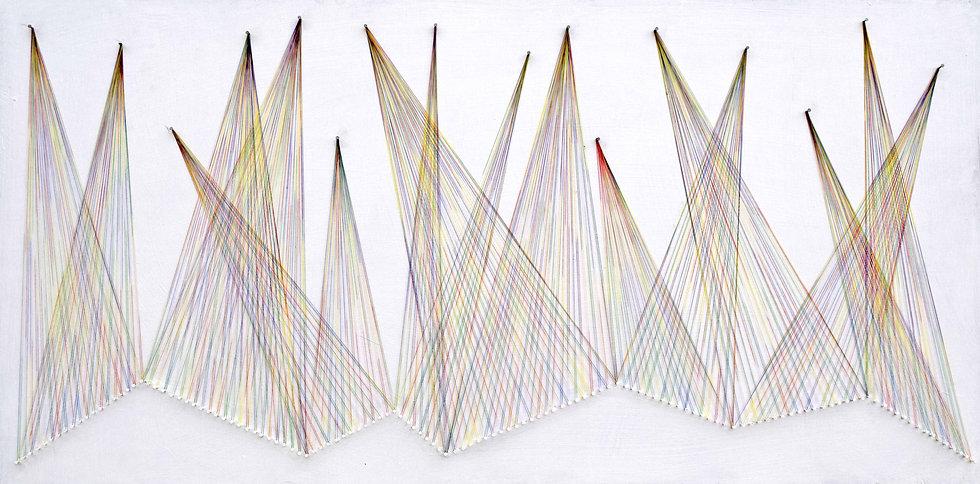 Wall Sculpture Nailed it Series No. 115