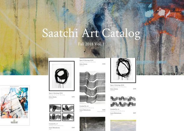 Saatchi Art Catalog Feature 2018