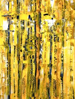 Composition No. 254 22x30 inches Acrylic