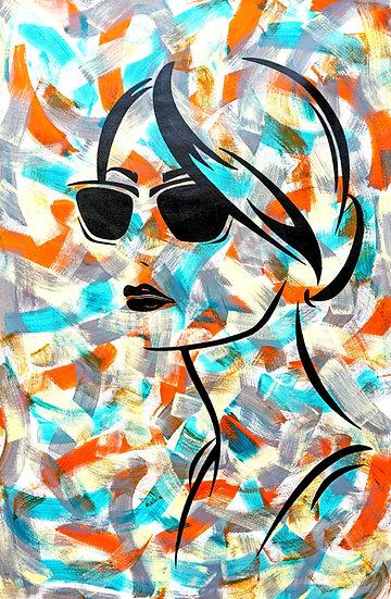 Wayfarer girl