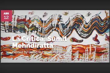 Artist Critique featured at Artelista.com