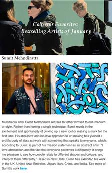 Saatchi Feature January 2020