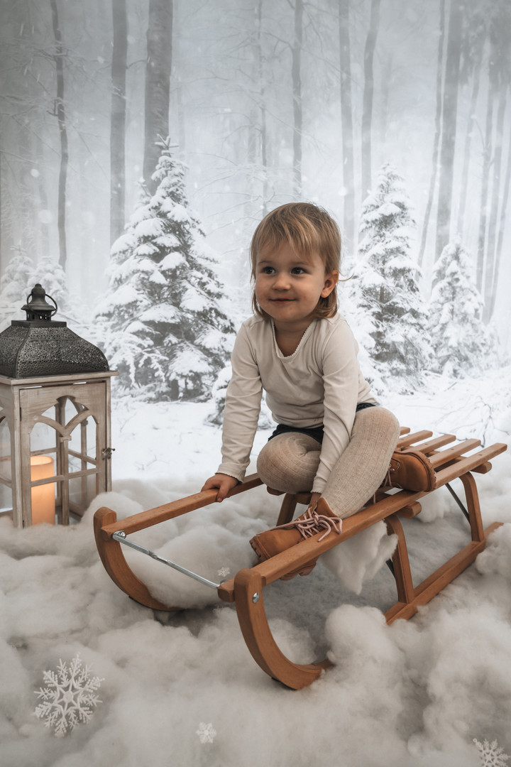 Kinderfotografie Christmas Mini Shoot