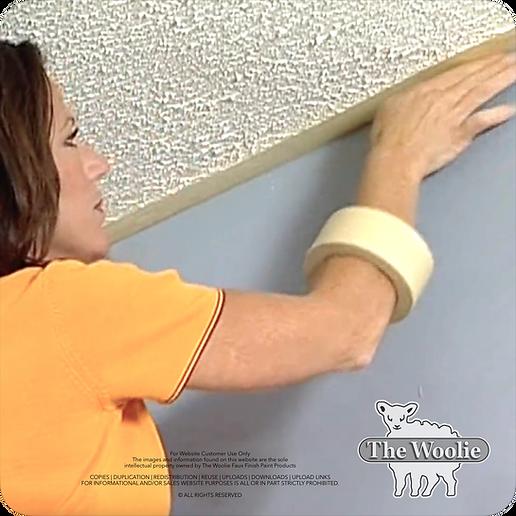 Sponge Painting Roller   How To Prepare