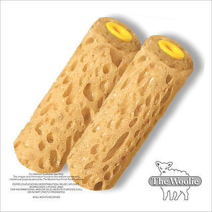 The Woolie Mini-Size 4 Inch Sponge Painting Roller Faux Painting Technique (Valu