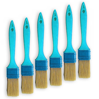 "1"" Inch Bristle Faux Painting Paint-Brush (VALUE 6-Pack)"