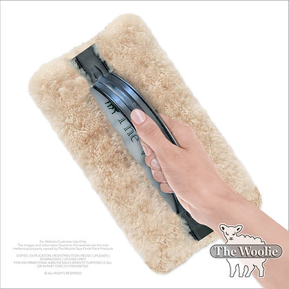 The Woolie Full-Size Natural Sheepskin Faux Painting Technique Pad (Single Item)