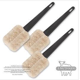 The Woolie Little-Size Natural Sheepskin Paint Pad Faux Painting (Value-Set)