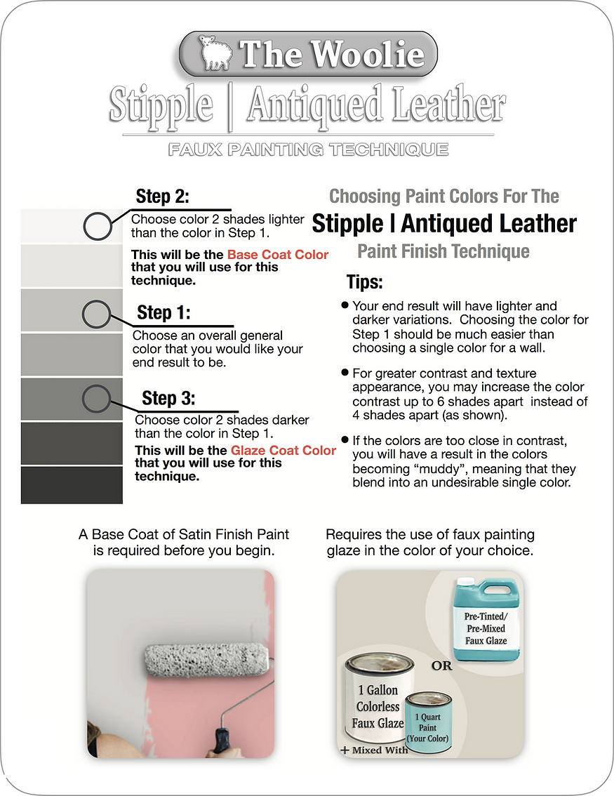 Stipple | Antiqued Leather Choosing Pain