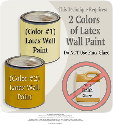 2-Color Roller-Meshing | How To Paint Te