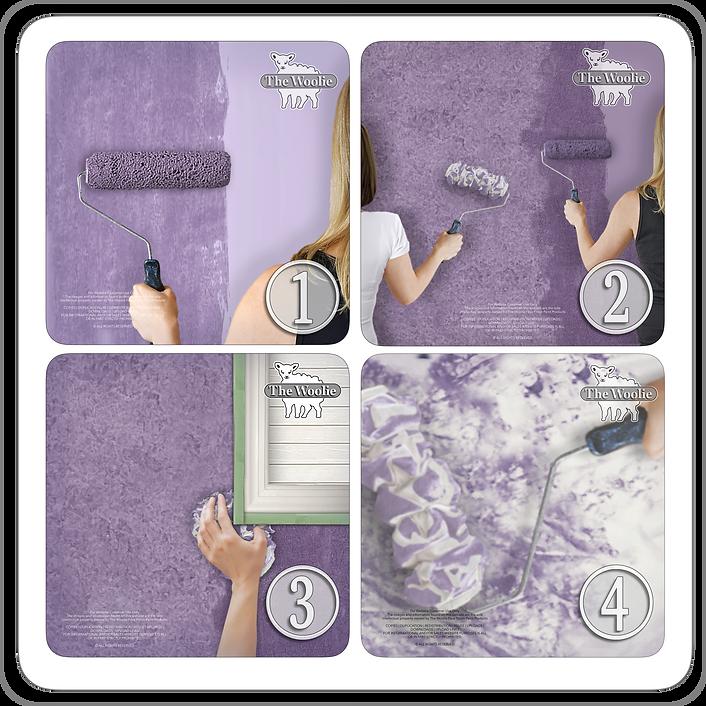 Rag Painting Roller | How To Sponge Pain