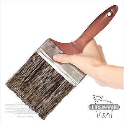 The Woolie 5 Inch Bristle Faux Painting Technique Paint-Brush (Single-Item)
