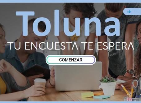 Toluna: Ganar Dinero con Encuestas, Tareas, Prueba de productos, etc...